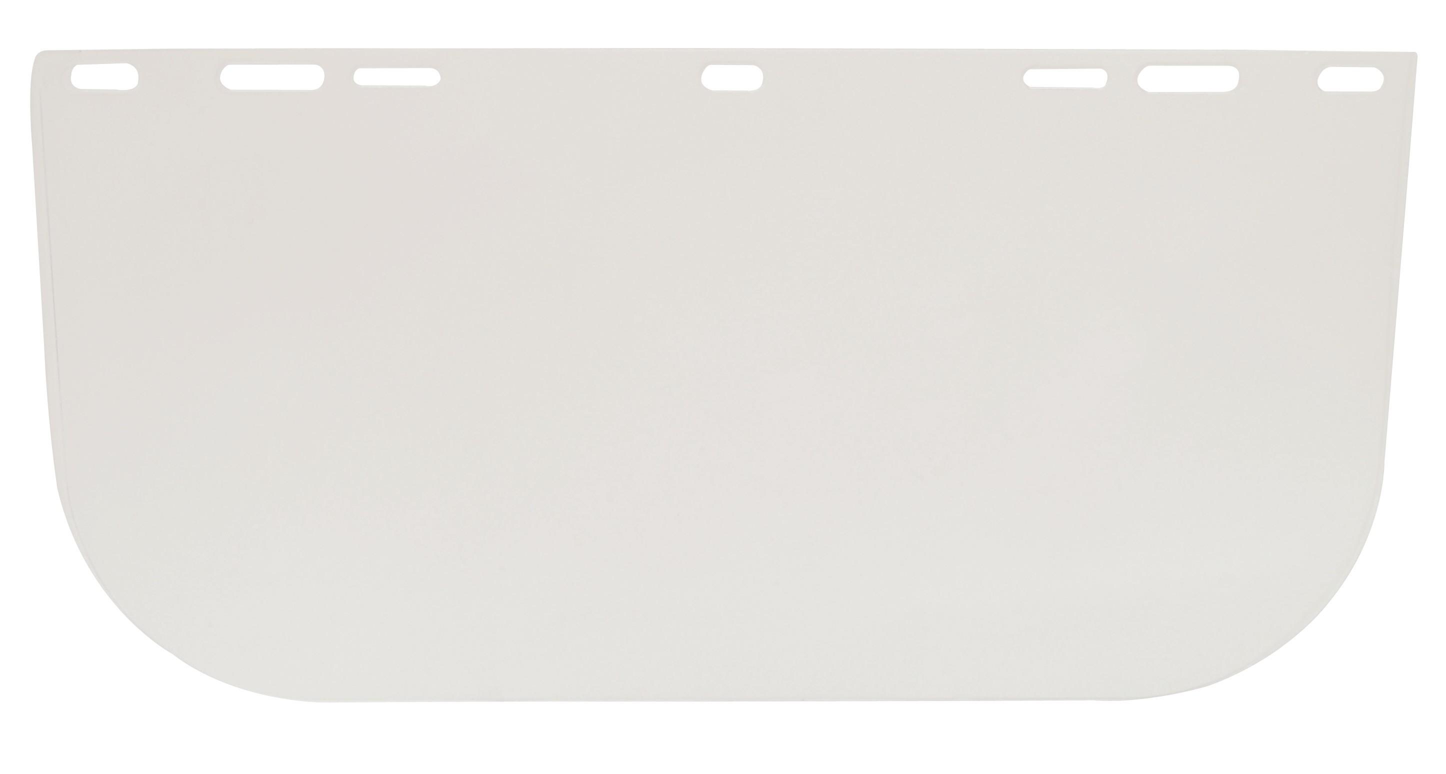 60710 - Polikarbonát arcvédő látómező, 195 x 430 mm