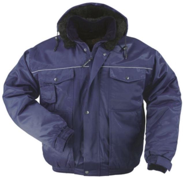 BEAVER hűtőházi dzseki, hőszigetelő bélés, szőrmés kapucni