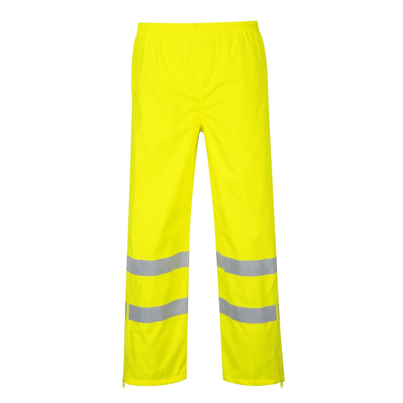 S487 - HI-Vis lélegző nadrág sárga
