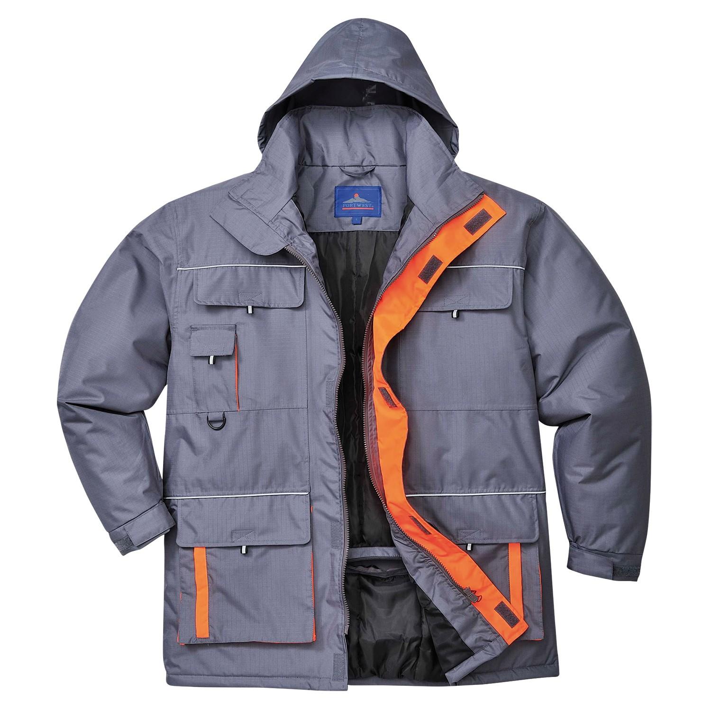 TX30 - Texo Contrast kabát szürke