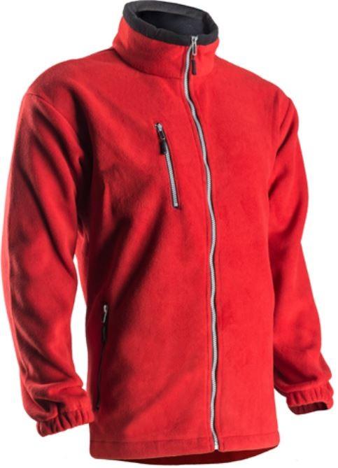 ANGARA  cipzáras pulóver, vastag mikro-polár