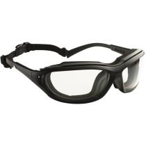 Madlux 2 az 1-ben védőszemüveg víztiszta lencsével