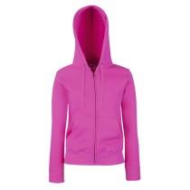 Női kapucnis pulóver (Lady-Fit Hooded Sweat Jacket) Fruit