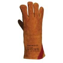 A530 - Megerősített hegesztőkesztyű kézhát