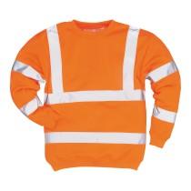 B303 - Jól láthatósági pulóver narancs
