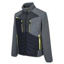 DX4 Baffle kabát - metál szürke