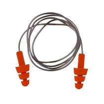 EP04 - Újrahasználható TPE zsinóros füldugó