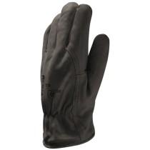 Kerguelen - fekete borjúbőr 3M Thinsulate polárbéléssel