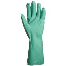 Nitril Plus zöld vegyszerálló kesztyű, 32 cm