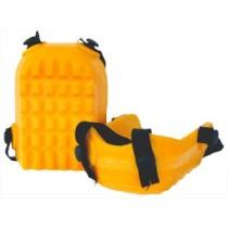 Sárga csúszásbiztos poliuretán térdvédő