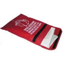 Tűzelfoljtó takaró tasakban, 540ºC, 420g/m2 - 1,5 x 1,5 m