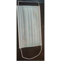 Háromrétegű egészségügyi gumis maszk (10 db)