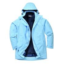 Elgin női 3 az 1-ben kabát, égszínkék (XL méret)