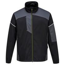 T620 - Flex Shell kabát fekete/szürke