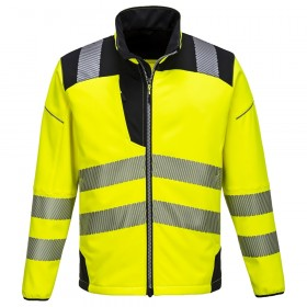 Vision jól láthatósági softshell kabát
